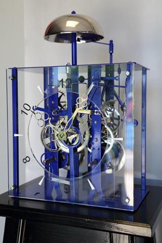 Les 24 heures du temps la manufacture vuillemin besan on jura diversions l 39 info for Pendule contemporaine