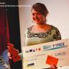 Marine Boutte, gérante du magasin Music Boutic à Dole, a remporté le premier prix d'Initiative au Féminin, lundi 15 décembre au Petit Kursaal à Besançon