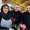 Céline et Didier Ferciot, accompagnés de Stefan Baverel. Fleuristerie et pâtisserie s'unissent pour proposer une Saint-Valentin locale - et de qualité - aux amoureux d'Audincourt et d'ailleurs