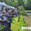 La Journée handi-pêche se déroule le mercredi 3 juin 2015 à l'étang communal d'Héricourt