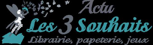 logo librairie les 3 souhaits