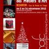 Marché des artisans d'art à Besançon