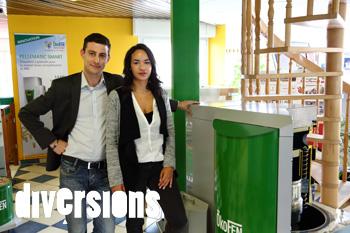 By ENrJ au Salon Habitat et Economies d'énergie de l'Axone à Montbéliard