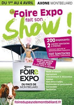 3ème Foire Expo du Pays de Montbéliard à l'Axone sur Diversions Aire urbaine