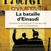 Fabrice Riceputti, La bataille d'Einaudi