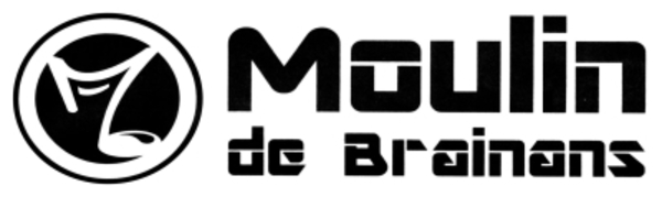 logo le moulin de brainans
