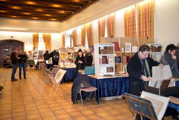 L'un des espaces du Koïfhus accueillant libraires et amateurs de livres