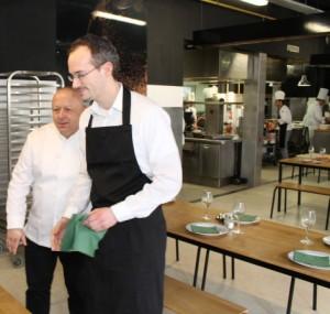 Ecole thierry marx besan on le recrutement des - Cours de cuisine thierry marx ...