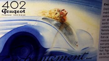 Exposition La femme et l'automobile au Musée de l'Aventure Peugeot à Sochaux