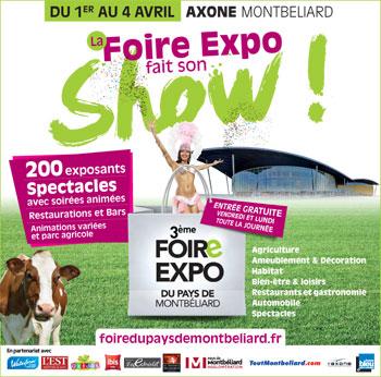 3ème Foire Expo du Pays de Montbéliard à l'Axone