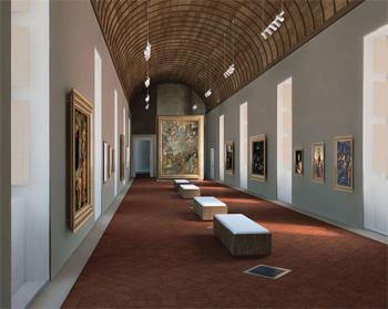 Galerie de Bellegarde rénovée (perspective)