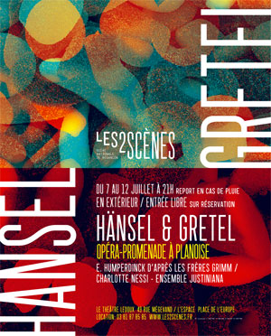 Hänsel & Gretel à Besançon Planoise
