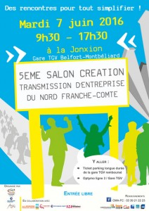 Belfort 5 me salon de la cr ation transmission d for Salon creation entreprise