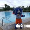 La nouvelle mascotte de la Piscine du Parc à Belfort, dans le quartier des Résidences. Le public est invité à lui trouver un nom !