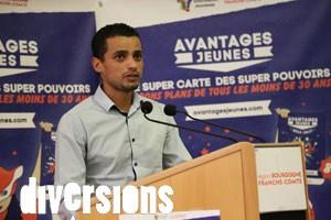 Karim Rouqeb, du Bruit Qui Pense, l'un des nombreux partenaires de la Carte Avantages Jeunes