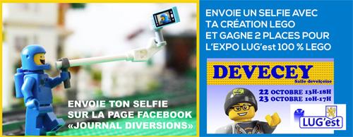Expo 100 % Briques Lego à Devecey