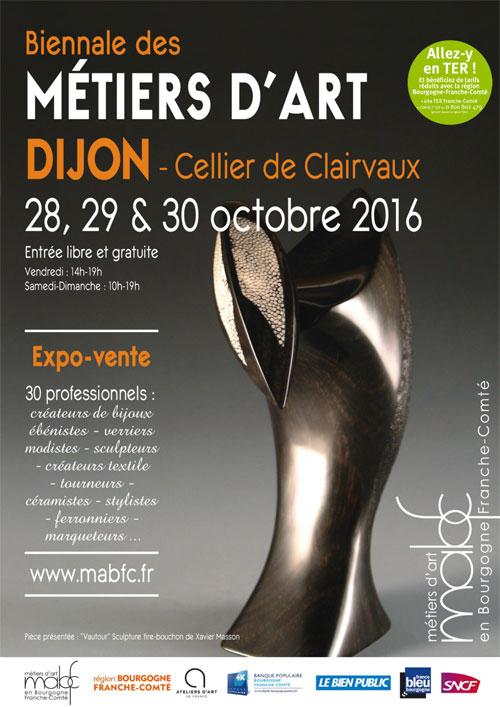 Dijon biennale des m tiers d art du 28 au 30 octobre for Biennale artisanat d art