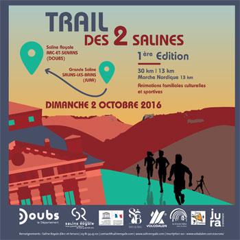 Trail des 2 Salines le 2 octobre 2016