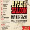 Apach Saloon les 15 et 16 octobre 2016 à Héricourt