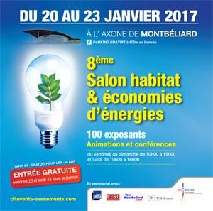 Montb liard salon habitat et conomies d nergies 2017 for Salon de l habitat 2017 paris