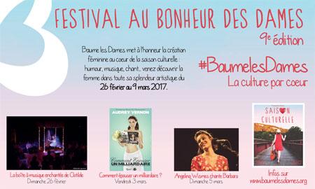 Festival Au Bonheur des Dames 2017