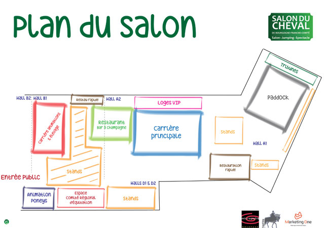 Besan on salon du cheval micropolis le premier week for Salon du cannabis 2017