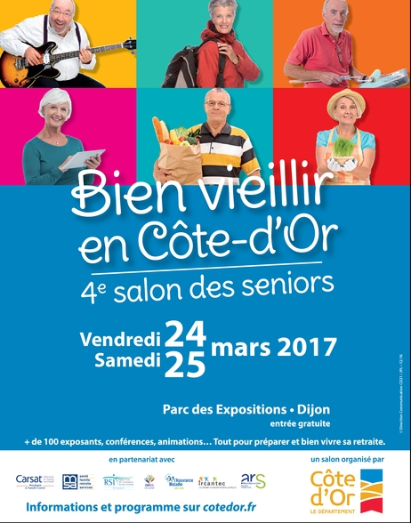 Dijon 4e Salon Des S Niors Au Parc Des Expositions Les