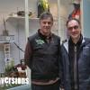 Yves Rivière, guide randonnées et Vincent Rouire, directeur de la Maison de l'Environnement du Territoire de Belfort, au sein du nouvel Espace Info Rando à découvrir dès aujourd'hui