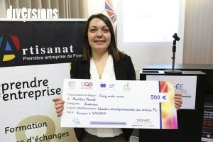 Marlène Pernot a reçu le Prix Jeunesse le 13 mars 2017
