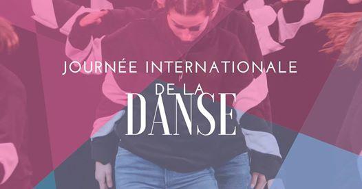 visuel journée internationale de la danse