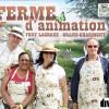 Quelques bénévoles présents en avril à la Foire Expo de Montbéliard pour présenter le projet de la Ferme pédagogique du Fort Lachaux