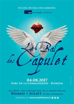 Le Bal des Capulets au Parc de la Commanderie de Rixheim le 4 août