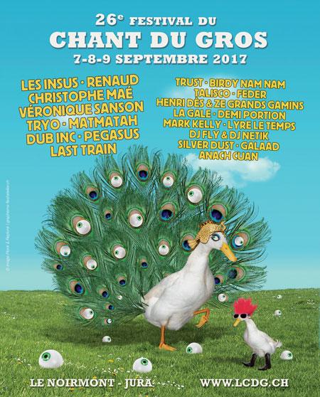 Le Chant du Gros 2017 au Noirmont en Suisse