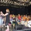 Répétition des chorales des collèges le 23 mai dernier au Moloco d'Audincourt