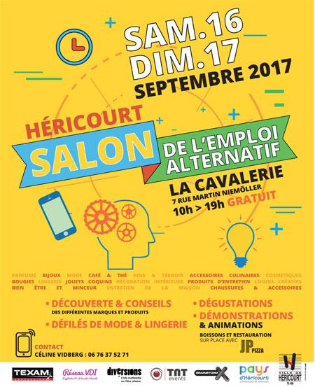 H ricourt 2e salon de l emploi alternatif les 16 et 17 for Salon de l emploi 2017