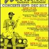 Concerts à Wood Stock Guitares de septembre à décembre 2017, Ensisheim
