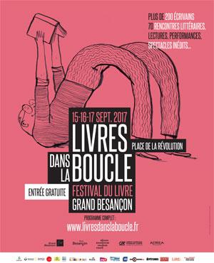 Livres dans la Boucle 2017 à Besançon