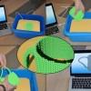Utilisation potentielle de la matière programmable avec la création d'un mug à partir d'un modèle CAO informatique (conception assistée par ordinateur) - Photo : FEMTO-ST