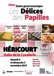Délices des Papilles 2017 à la Halle de la Cavalerie d'Héricourt