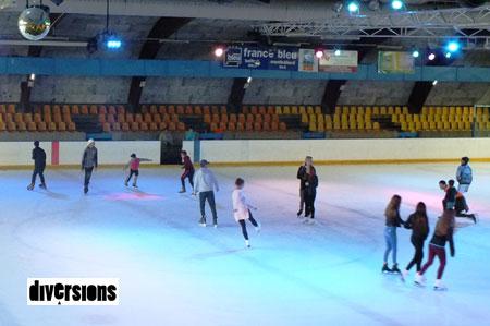 Réouverture de la patinoire du grand belfort