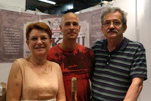 Josef Szoka à droite et ses collègues de la Hongrie Gourmande