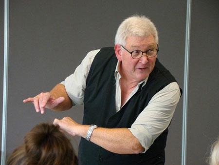 Pierre Lombard sera à la Foire aux Livres de Belfort les 12 et 13 octobre pour des séances de contes à destination d'élèves du département -