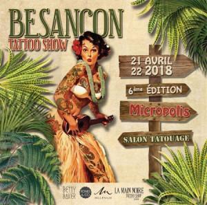 Besançon Tattoo Show 2018