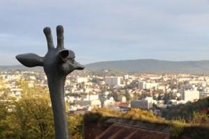 L'une des sculptures de Mauro Corda à voir à la Citadelle de Besançon