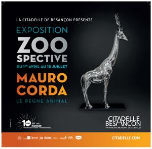 Exposition Zoospective le règne animal à la Citadelle de Besançon