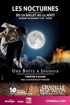 affiche balade nocturne théâtralisée 2018 citadelle