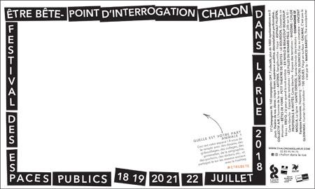 Chalon dans la Rue 2018