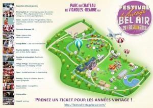 Festival Vintage Bel Aire 2018 à Vignoles-Beaune