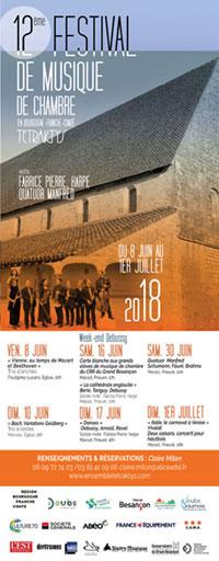 Festival Tetraktys en Franche-Comté 2018