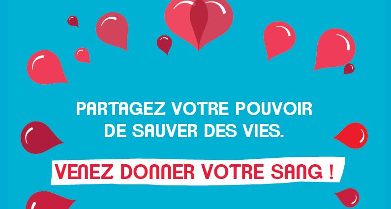 visuel journée mondiale du don du sang
